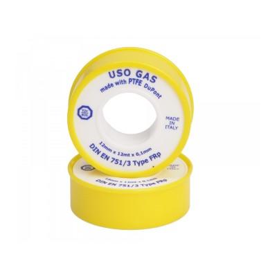Páska  PTFE 12,00x0,10x12000 mm